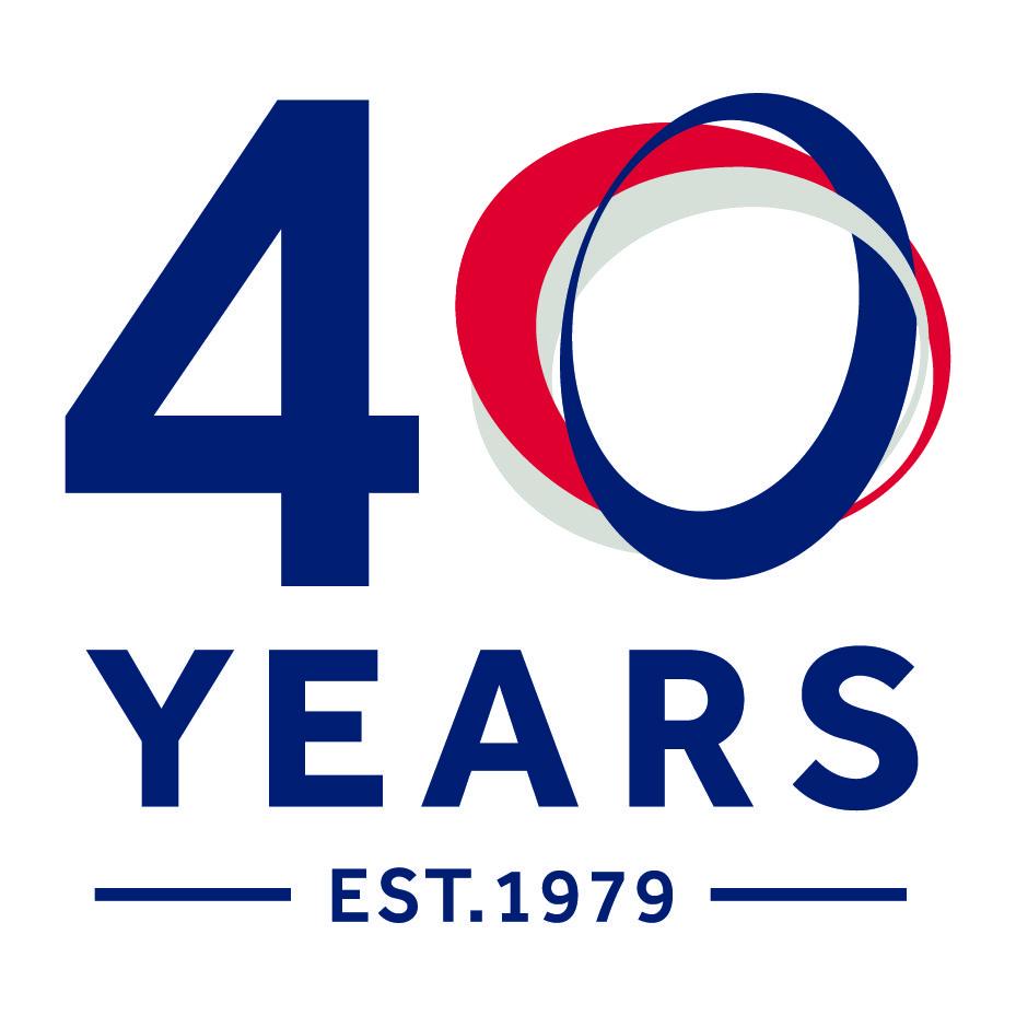 CDUK 40th logo