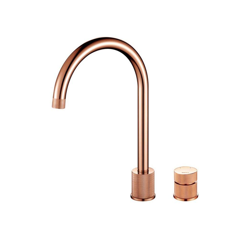 Finire Knurled Tap - Copper